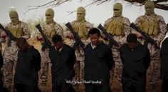 FRANKLIN GRAHAM: THE WORLD IS NO LONGER SHOCKED BY SEEING CHRISTIANS HEAD'S CUT OFF - This video purportedly shows Islamic State militants murdering Ethiopian Christians.