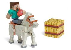 Minecraft Pixelated Action Figures