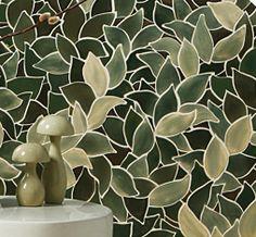 Ceramic & Metal - Perennial - Ann Sacks Tile & Stone - check this site for the copper  tiles