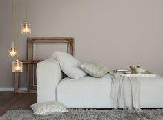 Alpina Feine Farben No. 06 – Dächer von Paris. Ein eleganter Taupe-Ton.