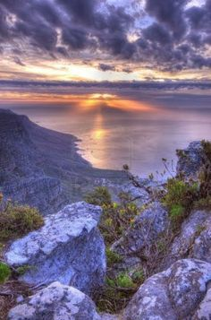 Cape Town sunset.