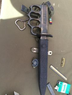Genuine WW2 issue Mark I Trench Knife by atomiccheesegod Knife Pics