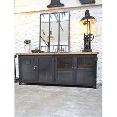 Exemple fabrication meuble industriel