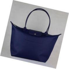 a buon mercato borsa Prezzo Longchamp PLANETES Tote Buio Blu