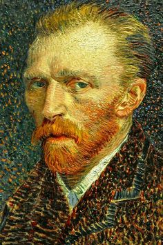 Autoportrait Vincent van Gogh  1887 - Huile sur carton The Art Institute of Chicago - AMERIQUE
