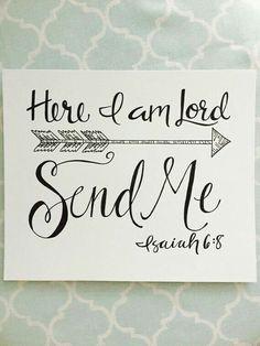 Send me.