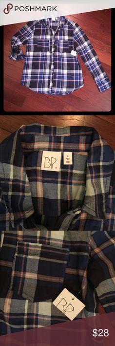 BP flannel. Size: M. NWT! BP flannel. Size: M. NWT! bp Tops Button Down Shirts