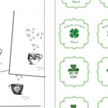 Today is your lucky day St Patrick's Day Peppermint Patty Favor Free sweet Printables ishareprintables.com  #freeprintables #stpatricksday #ishareprintables
