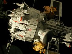 Space Tug and Barge - Space 1999 Eagle Transporter Forum
