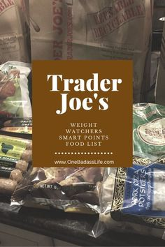 This week I spend some time at the Trader Joes searching for food that was low in Weight Watcher's Smart Points values. I found a few gems, so I put together this Trader Joes Weight Watchers food list to share my favorite finds with you. Before I get started, I wanted to share the most […] Share One Badass Life:Click to share on Facebook (Opens in new window)Click to share on Twitter (Opens in new window)Click to share on LinkedIn (Opens in new window)Click to share on Reddit (Opens in new…