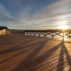 A #stunning #sunrise at the #dam of #Domaša, #Slovakia. #Dock for a new #ship. #pier June, 2016. #beautifulslovakia #beautifulday #ZelenaLaguna #insta_svk #ig_slovakia #thisisslovakia #pureslovakia #Slovensko #dnesletim #dnescestujem #peace at 4:45 in the #morning :) #WakeUp and don't miss such #marvel.