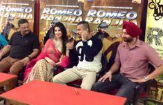 Ambala press Conference images 4th Day Romeo Ranjha #Promotional Tour