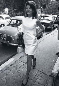 "Showing legs is good in the ""right"" dress.  Jackie O always got this right even in her 50's she was the beacon of how a lady should act and dress."