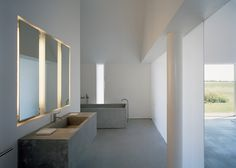 backlit float mirror panels {desire to inspire - desiretoinspire.net - More John Pawson}
