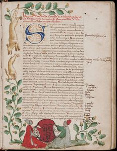 Boccaccio, Giovanni, 1313-1375 Illuminated manuscript