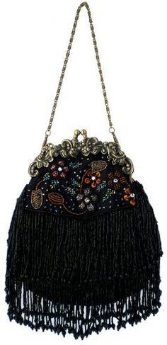 Vintage Flowers Seed Bead Flapper Clutch Evening Handbag, Clasp Purse w/Hidden Chain MG Collection, http://www.amazon.com/dp/B003P5VWRC/ref=cm_sw_r_pi_dp_z3E7pb1PYS6QV
