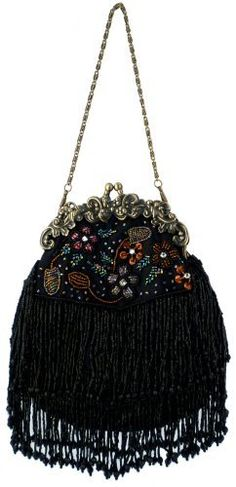 Vintage Flowers Seed Bead Flapper Clutch Evening Handbag, Clasp Purse w/Hidden Chain MG Collection, http://www.amazon.com/dp/B003P5VWRC/ref=cm_sw_r_pi_dp_z3E7pb1PYS6QV