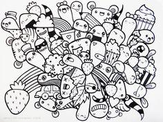 easy doodle gambar drawings terbaru drawing kumpulan doodles simple coloring printable lisa terbaik nama apk dan years paintingvalley populer lifestyle