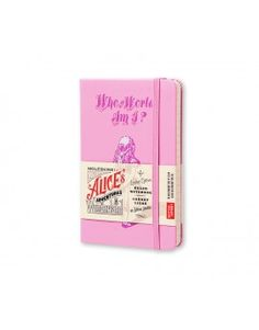 Cuaderno de notas pequeño Alicia (Who in the world am I?)
