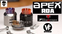 TimesVape APEX 25mm RDA - The Best of Both Worlds