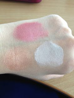 All Over Colour Stick! in Pink Lemonade, Golden Peach and Spotlight  http://www.eyeslipsface.com/elf/eyes/eyeshadow/all_over_color_stick