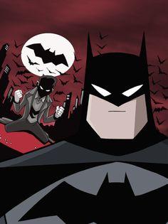 Batman: An Origin Story - Cover by LucianoVecchio.deviantart.com on @deviantART