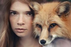 Katerina Plotnikovahas theability to bring the power of thestrongest animals together with the softness of these women to create these amazingimages. Enjoy! Comments comments