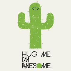 Hug Me. I'm Awesome. graphic illustration by Adrian Johnson . Creative Illustration, Graphic Illustration, Adrian Johnson, Chillout Zone, Awe Me, Work Images, Word Up, Work Inspiration, Cute Wallpapers