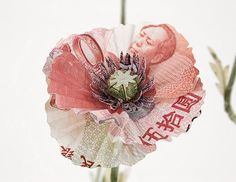 Amazing Collection of Artworks Made From Money