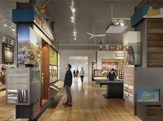 Presidio Visitor Center exhibit design
