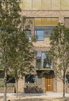 Image 6 of 25 from gallery of Abode at Great Kneighton / Proctor and Matthews Architects. Courtesy of Proctor and Matthews Architects Cambridge England, Patio Grande, Social Housing, Affordable Housing, Brickwork, Facade Architecture, Urban Design, New Homes, House Design