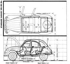 Citroen 2cv interior. Early model has a sliding leather