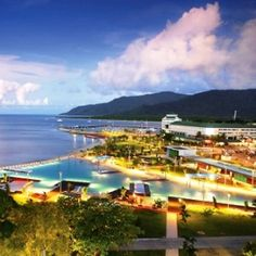 Cairns, Australia - I would love to go back to live here! I'ts Australia's West Coast. Way more laid back.