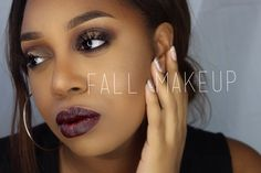 FALL MAKEUP TUTORIAL