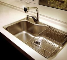 Roll-Up Sink Drying Rack | kitchen | Pinterest | Water drip, Sinks ...