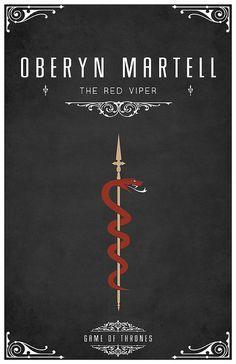 Oberyn Martell Personal Sigil