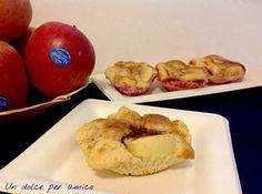 Deliziosi #dolcetti di mele, perfetti per una #merenda gustosa e leggera. #Ecosostenibili e naturai sui #piatti Elegance in #PolpaDiCellulosa di #Ecobioshopping.  www.ecobioshopping.it  per la #ricetta http://blog.giallozafferano.it/undolceperamico/tortine-mele-e-cannella