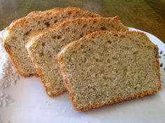 A Love Letter to Food: Herb Batter Bread