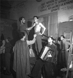 Emile Savitry. Atelier de scuplture, Beaux-Arts de Paris, 1939