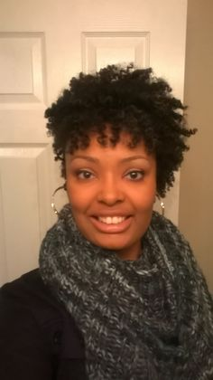 Twist out 11 months post