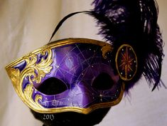 The Academic Handmade Leather Mask by MaskEra on Etsy, $200.00