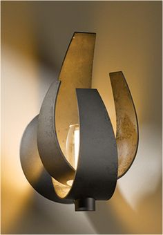 HUBBARDTON FORGE lamp, interesting and a very good conversation piece.