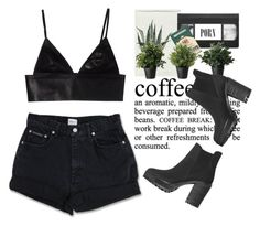 """- Black Cofee Time's -"" by lolgenie ❤ liked on Polyvore"