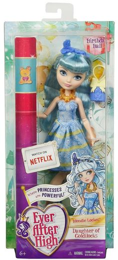Ever After High Birthday Ball Blondie Lockes Doll - NEW & SEALED! #Mattel #DollswithClothingAccessories