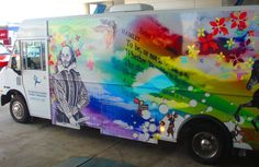 Bookmobile, Frederick County (Md.) Public Libraries.