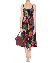 mytheresa.com - Printed Silk Dress - Valentino | mytheresa - Luxury Fashion for Women / Designer clothing, shoes, bags