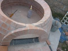 Any flaws in my dome and arch design? - Forno Bravo Forum: The Wood-Fired Oven Community Brick Oven Outdoor, Pizza Oven Outdoor, Outdoor Food, Outdoor Cooking, Outdoor Kitchens, Outdoor Spaces, Outdoor Living, Wood Oven, Wood Fired Oven