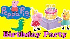 Peppa Pig: El  Español Completos Capitulos - Cumpleaños de George infan...