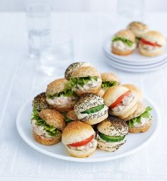 20 Bite-Size Cocktail Roll Selection | M&S