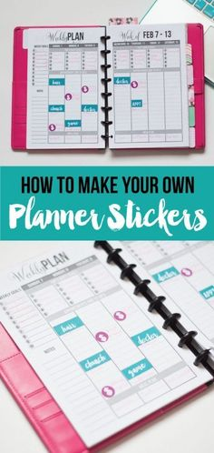 Learn how to create your own planner stickers! It doesn't matter whether or not you have a cutting machine. I'll show you easy ways to make planner stickers even without a Silhouette or Cricut. (And you don't need fancy software either. I'll be using free software.)